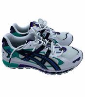 Asics Gel Kayano 5 360 Royal Azel Aqua White Mens Sneakers Size 9.5 1021A198-100