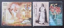 India 2011 Rabindranath Tagore Poet Artist  stamps 2v MNH