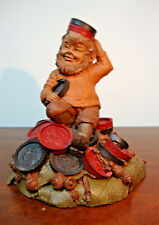 "Tom Clark Gnome Chubby Checkers 1986 Retired Cairn Studio 6"" Edition 54"