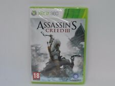 XBOX360 Assassin's Creed III BRAND NEW CR171 AA 16