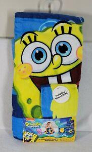 Spongebob Squarepants - 2 Piece Bath Towel + Washcloth Set