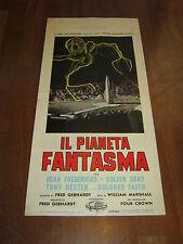 Locandina,1961,IL PIANETA FANTASMA,The Phantom Planet,Marshall,Gray,Dexter,SCI-F