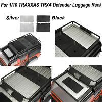 Porte-bagage Plaque Toit supérieur voiture pour 1/10 TRAXXAS TRX4Defender RC Car