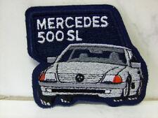 Aufnäher Aufbügler Patch 500 SL MERCEDES - 7,5 x 8,5 cm