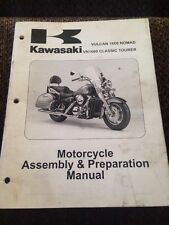 2005 KAWASAKI VULCAN 1600 NOMAD VN1600 TOURER ASSEMBLY MANUAL 99931-1445-01