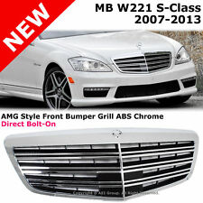 Mercedes Benz W221 S Class 07-13 Bumper Hood Front Chrome AMG Conversion Grille