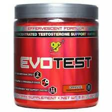 BSN EvoTest Powder (30 srv. Full Month Supply) ORANGE Flavor - Axis HT NO Xplode