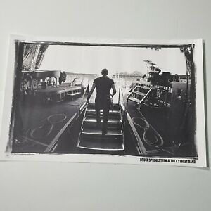 """Bruce Springsteen & The E Street Band Poster Print 17""""x11"""" 2010 Columbia Print"""