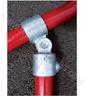 Q Clamp SINGLE SWIVEL Pipe Key Fitting Kee Handrail 2 34mm 3 42mm 4 48mm (173)