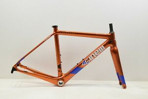 Cinelli Veltrix Disc Frameset Orange XS RRP£1149.99 Carbon Road Gravel (1)