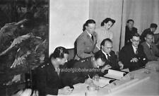 """Photo 1949 """"Moshe Dayan - Israeli-Egyptian Agreements"""""""