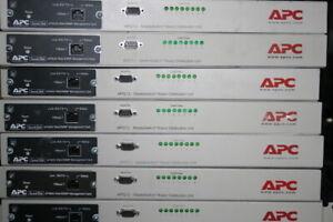 APC MasterSwitch AP9212 PDU with AP9606 Web/SNMP Management Card - 12m RTB