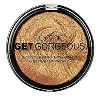 Technic Get Gorgeous 24ct GOLD Highlighting Powder Highlighter Bronzer