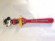 Vtg Walt Disney World Disneyland Mickey Mouse Back Scratcher Souvenir w Sticker