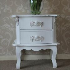 Wooden French Country Bedside Tables & Cabinets