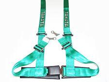"Takata DRIFT II 4 Point Bolt-On 2"" Racing Seat Belt Harness (Green)"