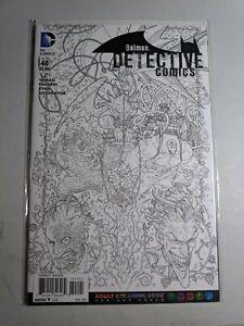 Detective Comics #48 New 52 Adult Coloring Book Variant