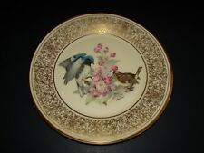 Boehm Birds Lenox Porcelain Lim.Edition Black Throated Blue Warbler Plate 1980