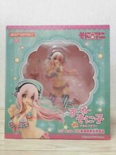 SUPER SONICO THE ANIMATION Super Sonico with macaroon tower Figure