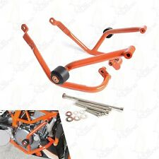 Engine Bumper Guard Crash Bars Frame Slider Protector For 2014-2016 KTM Duke 390