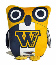 AFL West Coast Eagles Owl Cushion Official AFL Product