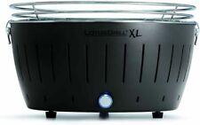LotusGrill XL Barbecue Portatile con Batterie, 43,5x 25,7cm - Nero