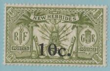 NEW HEBRIDES 36 MINT HINGED OG * NO FAULTS EXTRA FINE !