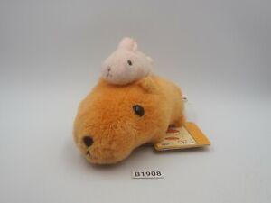 "Capybara-san B1908  KAPIBARA-SAN Banpresto 2010 Plush 4.5"" TAG Toy Doll Japan"