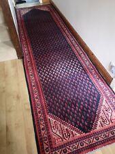 Fabulous Large  Vintage  Hand Woven Tribal  Wool Rug  Carpet Runner