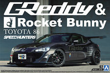 1:24 Scale Aoshima Greddy & Rocket Bunny Speedhunters Toyota GT86 Model Kit #126