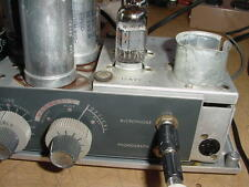 Bell & Howell Filmosound 302 tube amplifier for DIY 15 Watts guitar amp project