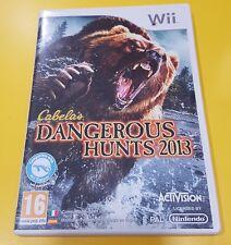 Cabela's Dangerous Hunts 2013 GIOCO WII VERSIONE ITALIANA