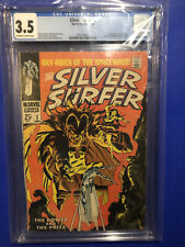 Silver Surfer 3 CGC 3.5 Off-White 1st Appearance Mephisto Marvel Comics MCU 1968