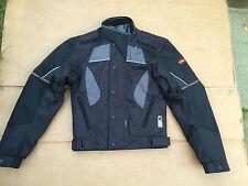 "LEWIS 'Storm Guard' Mens Textile Motorbike / Motorcycle Jacket UK 34"" Chest /H65"