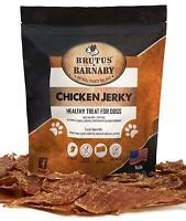 Chicken Jerky Dog Treats- Dehydrated Crunchy USA Premium Fillets, Grain-Free