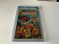 "WARLOCK 11 CGC 9.6 WHITE PAGES THANOS WARLOCK ""DEATH"" MARVEL COMICS 1976"