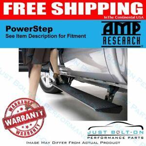 AMP PowerStep 2007-2018 Jeep Wrangler 4-Door JK ONLY Unlimited 75122-01A Black