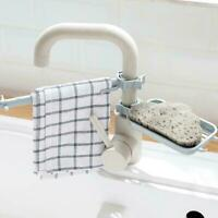 Expandable Storage Drain Basket Kitchen Telescopic Sink Holder Rack X1I7