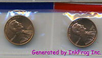 1997 P & D Lincoln Cents Choice/Gem Bu Set from mint sets