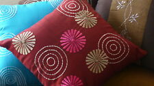 Decorative Cushion, Pillow - Red - Pink