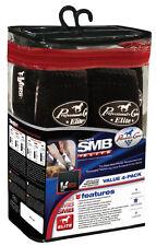 Professional's Choice VenTECH Elite 4 Pack BLACK M SMB Equine Horse Sport Boots