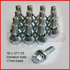 16 * 12x1.25 WOBBLY WHEEL BOLTS fits FIAT Stilo Variation PCD Correction