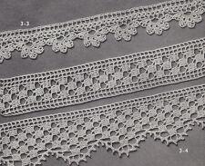 Vintage Crochet PATTERN to make Two Elegant Wide Lace Edging Design Insertion 2