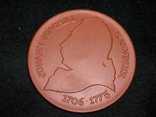 Meissen Plakette Medaille Johan Joachim Kaendler Meissen Porzellan Museum