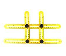Angle-izer Template Tool Angleizer Measuring Angle Ruler Yellow