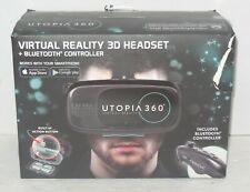 Retrak Utopia 360 VR Goggles Virtual & Augmented Reality Headset iPhone Android