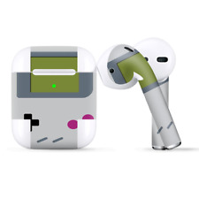 Skins Wraps compatible for Apple Airpods  Retro Gamer Handheld