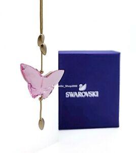 New 100% SWAROVSKI Jungle Beats Pink Crystal Butterfly Ornament Deco 5557847