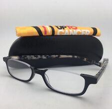 Readers EYE•BOBS Eyeglasses WHAT INHERITANCE? 2277 11 +1.00 Black White Tortoise