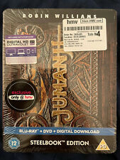 NEW Jumanji Blu-Ray + DVD Limited Edition SteelBook (SOLD OUT at Best Buy & HMV)